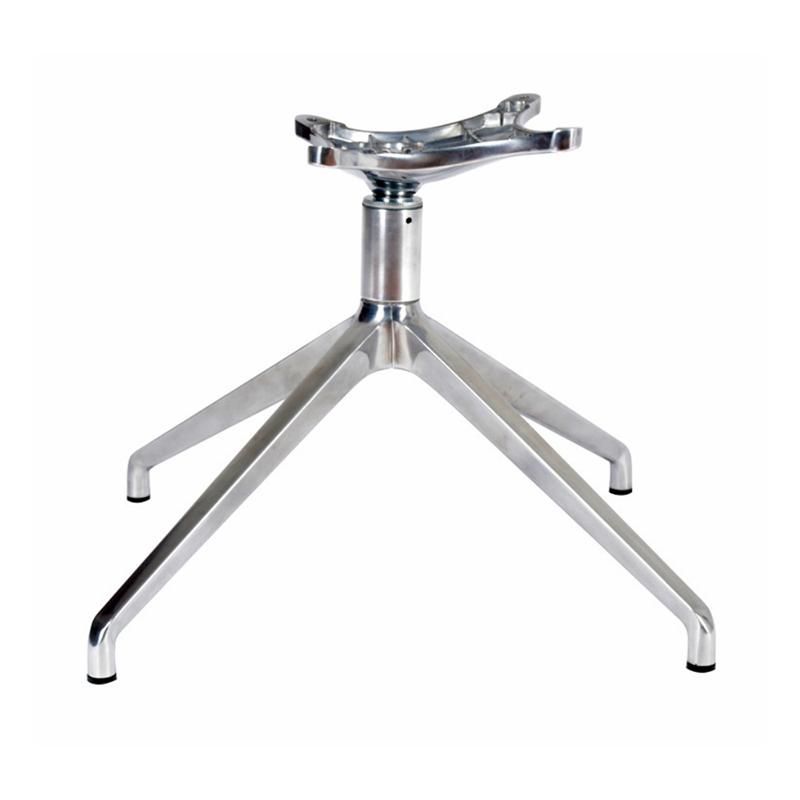 Base per sedia da ufficio in alluminio con pressofusione